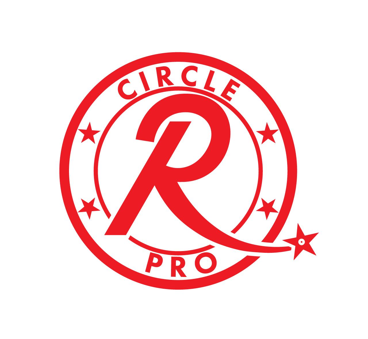 R Logos Red Circle - 12.000 vector logos